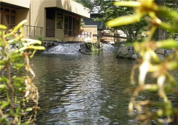 自然风格跌水设计